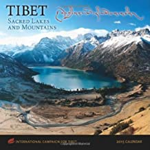 TIBET: Sacred Lakes and Mountains, International Campaign for Tibet 2015 Wall Calendar by The International Campaign for Tibet (2014-07-23)