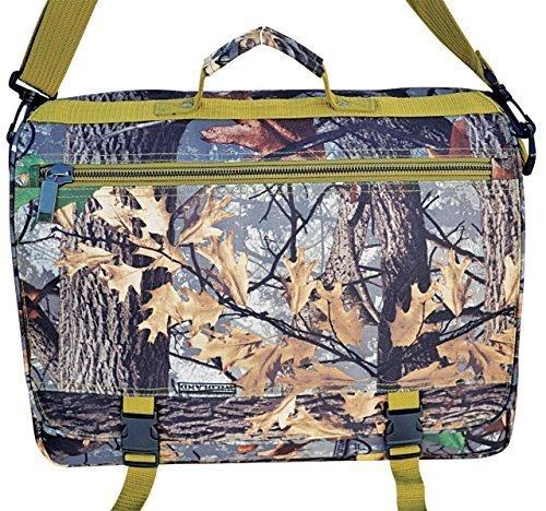 Explorer Wildland -Mossy Oak Realtree Like- Hunting Camo Multi-functional Tactical Messenger Bag - Documents Bag- Multiple Pocket & Compartments by Explorer