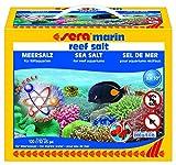 Sera 05467 marin Reef Salt 3900 g Das naturnahe Premium-Meersalz höchster Qualität, leicht und schnell löslich durch feine Körnung und Verwendung Reiner Einzelkomponenten