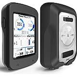 TUSITA Cas pour Garmin Edge Explore 820 - Housse de Protection en Silicone Peau - Ordinateur de vélo Accessoires GPS (Noir)