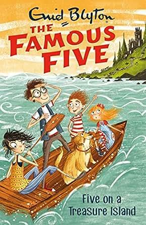 Five On A Treasure Island Book  Famous Five