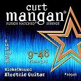 Curt Mangan Nickel Wound 9-46 jeu de cordes pour guitare électrique