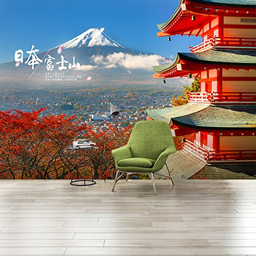 Fuji Box (Vlies Tapete Wandbilder The Japanese Island Fuji Cherry Blossom Street, Building Background Wallpaper Japanese Restaurant Sushi Box Wallpaper)