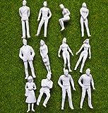 Evemodel-Neu-100–Figuren-nicht-lackiert-Spur-0-35mm