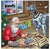kwb Adventskalender 2016, 24 Türchen mit Werkzeug zum Aufstellen und Aufhängen, 24 Stück, 370116