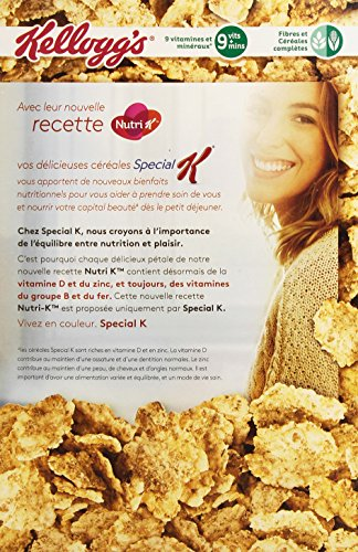 Kellogg's Céréales Spécial K Nature 440 g