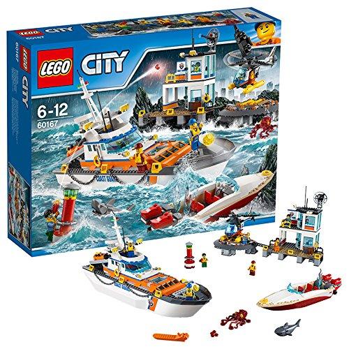 Preisvergleich Produktbild LEGO City 60167 - Küstenwachzentrum