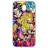 Générique Cover per Samsung J52017Motivo Dragon Ball Manga Z San Goku Super