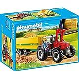 Playmobil Country 70131 Grote Tractor Met Aanhangwagen