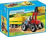 PLAYMOBIL 70131 Country Riesentraktor mit Anhänger, bunt