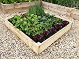 quickcrop Starter Raised Bed Kit 4ft x 4ft