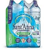 Sant'Anna - Acqua Minerale 1.5L Naturale (Confezione da 6)