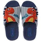 Coralup - Zapatillas de algodón para niños y niñas, diseño de unicornio