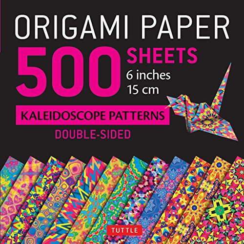 Origami Paper 500 Sheets Kaleidoscope Patterns 6 (15 CM)