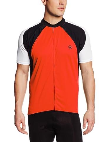 Canari Cyclewear Men's Cody Jersey, Lava, Small