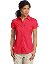 Columbia Damen Silver Ridge Shorts Sleeve Shirt Bluse