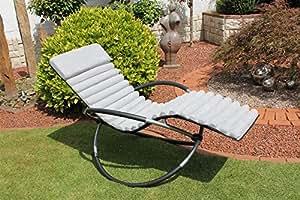 Vivid arts xxl 39398114 cuscino per sedia a dondolo for Sedia a dondolo amazon
