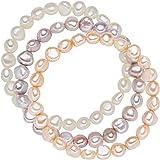 Valero Pearls Bracciale di perleda Donna in con Perla di coltura di acqua dolce