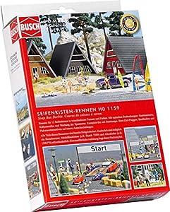Busch - Edificio ferroviario de modelismo ferroviario Escala 1:87 (BUE1159)