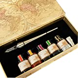 GC Kit de pluma con plumilla sin carga de caligrafía clásica PA-28