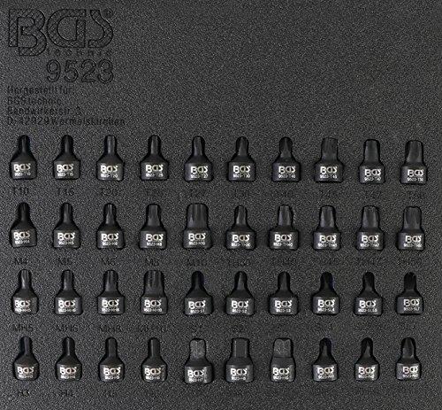 'BGS 9523 Force Bits de douilles mâles – 6,3 mm (1/4) – 40 pièces