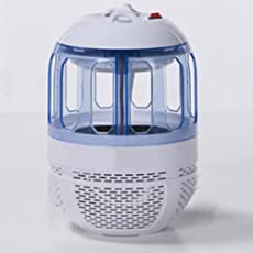 Climberty Electronic Bug Zapper Mosquito Trap Fly Insect Killer UV Light Lamp with 360 Degree Escape-Proof Mesh Design for Indoor Outdoor, NonToxic