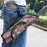 LuckyStone-Hunting-Training-Camo-Archery-Arrow-Quiver-Holder-Waist-Hanged-Camouflage-Bow-Belt-Shoulder-Bag-Pouch