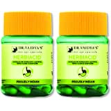 Dr. Vaidya's New Age Ayurveda | Herbiacid Capsules | Ayurvedic Medicine For Acidity and Gas | 30 Capsules (Pack of 2)