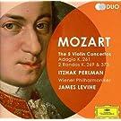 Mozart : Les 5 Concertos pour violon (Coffret 2 CD)