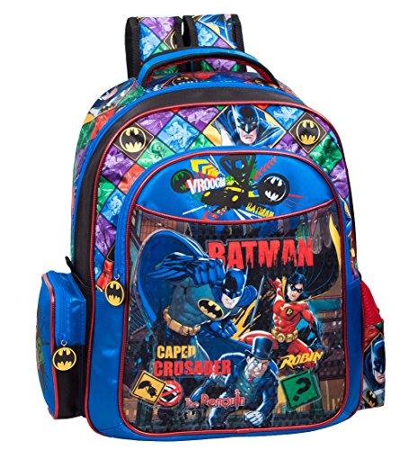 Deluxe Batman grande mochila azul