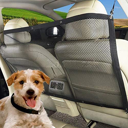 YIDAINLINE Schutznetz Auto Sicherheitsnetz Trennnetz Schutznetz für Sicher und Angenehm Reise Autonetz 115 x 62cm Hundenetz