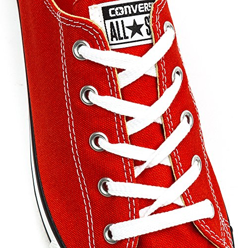 Converse All Star Dainty Ox Femme Baskets Mode Rouge Rouge