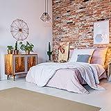 havatex Schurwolle Teppich Shepherd - Farbe wählbar | 100% strapazierfähige Naturfaser Wolle | für Wohnzimmer Schlafzimmer Esszimmer Büros, Farbe:Caramel, Größe:200 x 250 cm