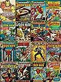 Marvel Comics 60 x 80 cm, include Iron Man Stampa su tela