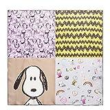 CODELLO Damen Tuch Snoopy - Motiv 82062002-15 Beige Seide