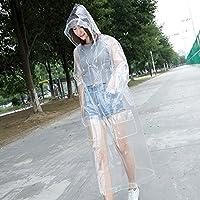 LVZAIXI Chaqueta de moda de Corea Corea del impermeable transparente ( Tamaño : L )