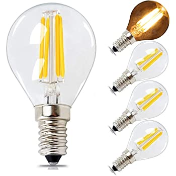 Philips LED Classic Dimmable E14 Small Edison Screw Clear Filament