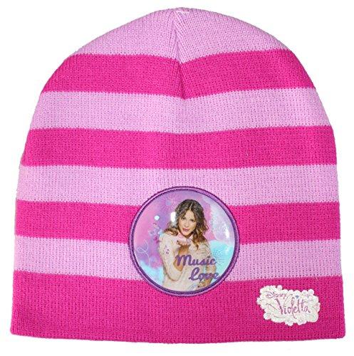 Violetta Mütze in verschiedenen Farben 52 (UN532) (Rosa-Pink) (Sofia Die Erste Handschuhe)