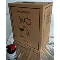 BAG IN BOX 5 LITRI + SACCA METALLIZZATA -PEZZI 20-