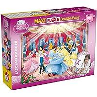 Lisciani Giochi 37230 - Puzzle Df Supermaxi Princess Dance, 108 Pezzi, Multicolore