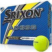 Srixon AD333Tour Yellow palline da golf–modello 2018–Giallo–Nuovo–OVP–1dozzina di
