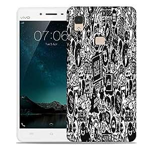 Snoogg Television Designer Protective Phone Back Case Cover For Vivo V3 Max