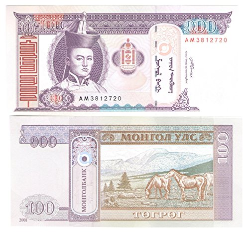 world-banknotes-for-collectors-uncirculated-100-tugrik-note-from-mongolia-2000-2010-design-unc-genui