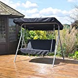 Kingfisher 2 Seater Swinging Hammock Bench Seat with Canopy