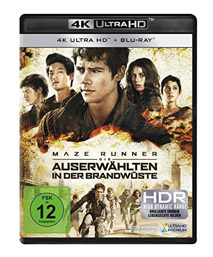 Maze Runner 2 - Die Auserwählten in der Brandwüste (4K Ultra HD) (+ Blu-ray)