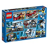LEGO 60138 City Police High Speed Chase Playset, Toy Helicopter and Sports Car, Police Sets for Kids