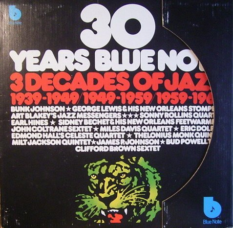 30 Years Blue Note - 3 Decades Of Jazz [Vinyl Schallplatte] [6 LP Box-Set] (Vinyl-schallplatten-jazz)