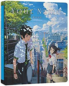 Your Name. (Ltd Steelbook) (Blu-Ray+Dvd)