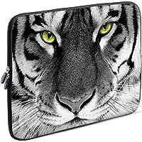 Sidorenko 15-15,6 Pulgada Funda para Laptop | Caja del Cuaderno Neopreno | Caja del Ordenador portátil Cremallera Duradera Protección de 3 Capas, Resistentes al Agua