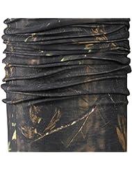Fladen Multi utilisation de pêche Camouflage Head Gear–Chapeau, Tour de cou, bandeau, cagoule, Snood, Bandana,–Idéal pour la plupart des Activités en Plein Air
